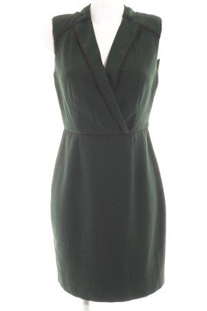 Mint&berry Etuikleid dunkelgrün-schwarz Elegant