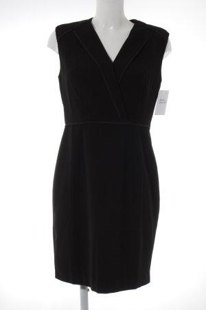 Mint&berry Etuikleid schwarz Elegant