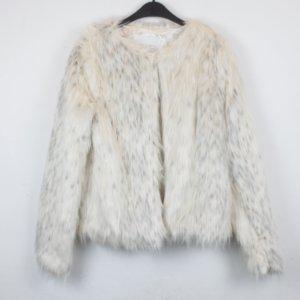 Mint & Berry Fake Fur Jacke Gr. 40 (18/9/079)
