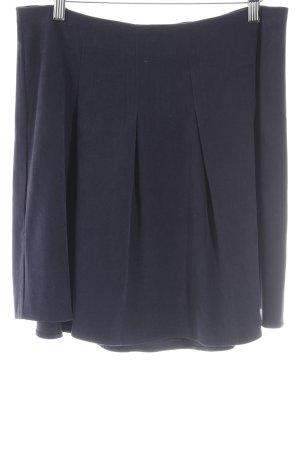 Mint&berry Faltenrock dunkelblau Elegant