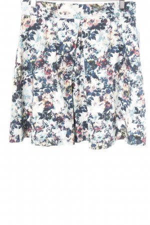 Mint&berry Flared Skirt floral pattern romantic style