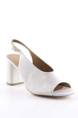 Mint&berry High Heel Sandal natural white classic style