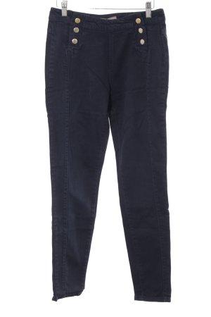Mint&berry High Waist Jeans dunkelblau Marine-Look