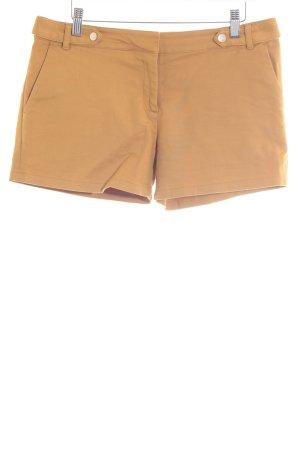 Mint&berry Pantalón corto naranja claro-color oro look casual