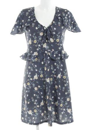 Mint&berry Jerseykleid stahlblau Casual-Look