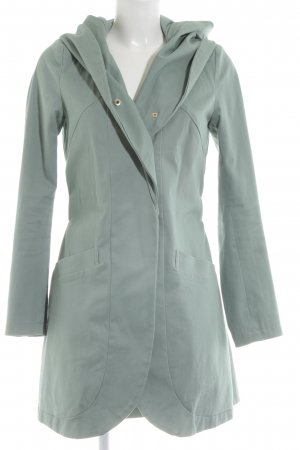 Mint&berry Hooded Coat turquoise casual look