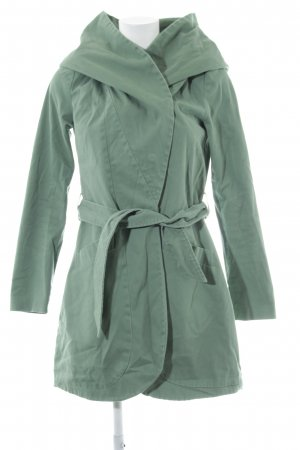 Mint&berry Hooded Coat lime-green casual look