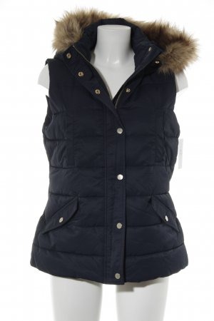 Mint&berry Hooded Vest dark blue casual look