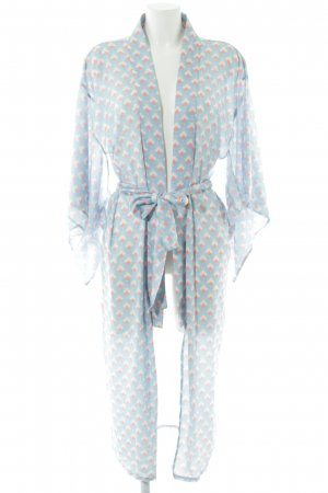 Mint&berry Kimono Allover-Druck Casual-Look