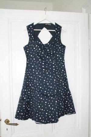 Mint&Berry Kleid in XL  blau mit weißen Puntken - wie neu