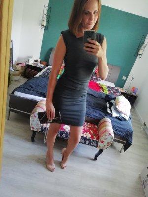 Mint&Berry Kleid Minikleid Etuikleid Asymmetrisch Bodycon S