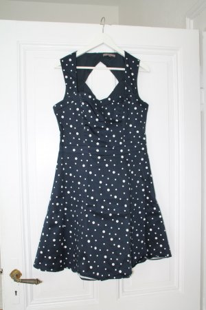 Mint&Berry Kleid XL  blau mit weißen Puntken - wie neu