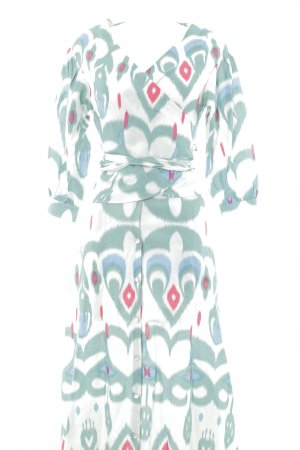 Mint&berry Ladies' Suit ikat pattern Gypsy style