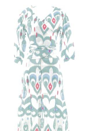 Mint&berry Tailleur motif ikat style bohème