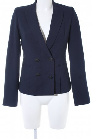 Mint&berry Kurz-Blazer dunkelblau Business-Look