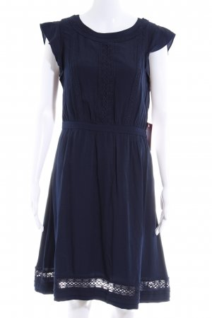 Mint&berry Kurzarmkleid blau Casual-Look