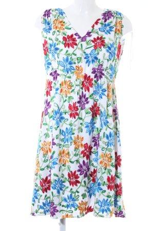 Mint&berry Kurzarmkleid Blumenmuster Elegant
