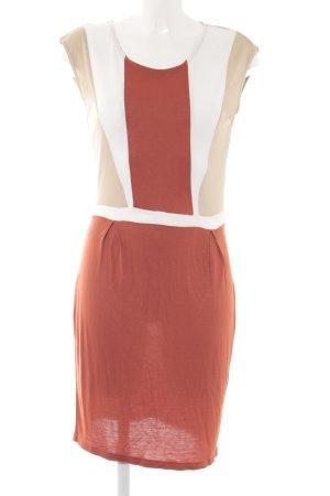 Mint&berry Kurzarmkleid Colourblocking Casual-Look