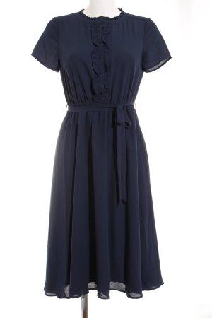 Mint&berry Kurzarmkleid dunkelblau Elegant
