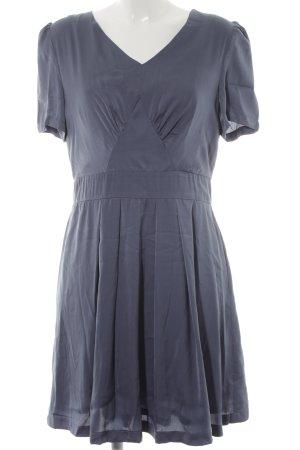 Mint&berry Kurzarmkleid graublau Elegant