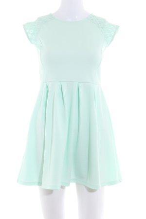 Mint&berry Kurzarmkleid mint Romantik-Look
