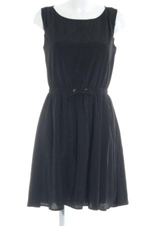 Mint&berry Kurzarmkleid schwarz Elegant