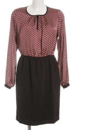 Mint&berry Kurzarmkleid schwarz schlichter Stil