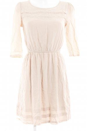 Mint&berry Langarmkleid apricot Romantik-Look