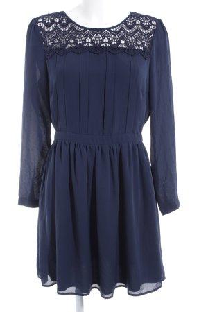 Mint&berry Langarmkleid dunkelblau Elegant