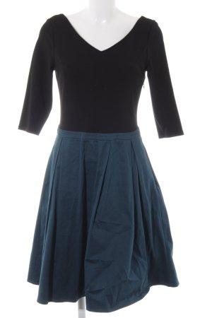 Mint&berry Langarmkleid schwarz-babyblau Casual-Look