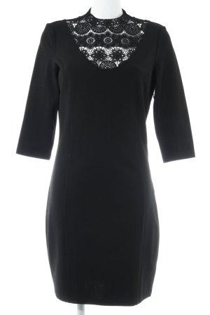 Mint&berry Langarmkleid schwarz Elegant