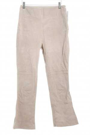 Mint&berry Leather Trousers dusky pink casual look