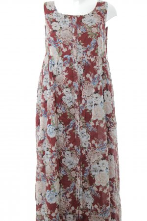 Mint&berry Maxikleid Blumenmuster Beach-Look
