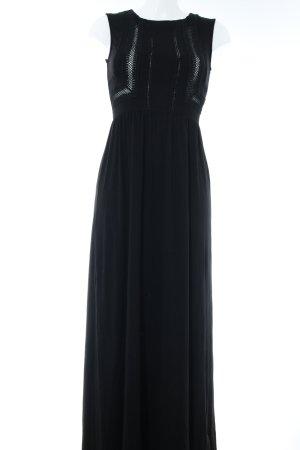 Mint&berry Maxikleid schwarz Elegant