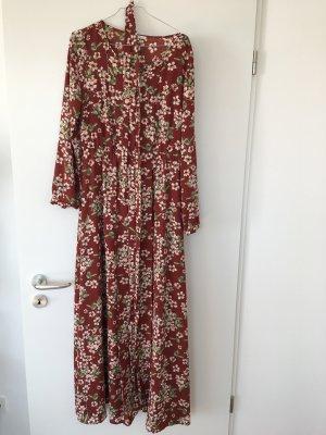 Mint&Berry Maxikleid Sommerkleid Kleid Blumen