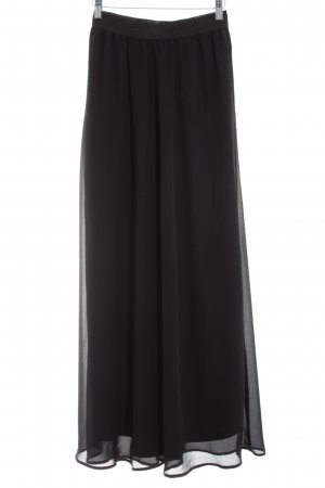 Mint&berry Maxi rok zwart casual uitstraling