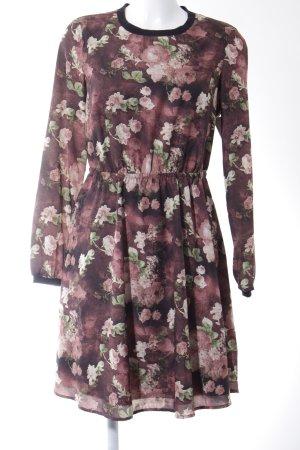 Mint&berry Midikleid florales Muster Casual-Look