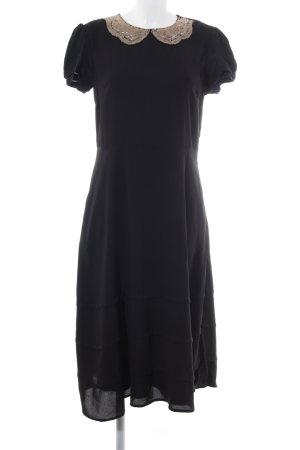 Mint&berry Midikleid schwarz Elegant