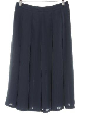 Mint&berry Midirock dunkelblau schlichter Stil