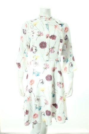 Mint&berry Minikleid Blumenmuster Nude-Look