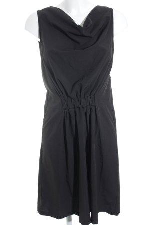 Mint&berry Minikleid schwarz schlichter Stil