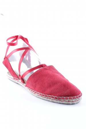 Mint&berry Moccasins dark red simple style