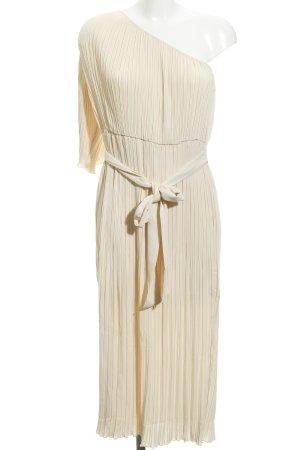 Mint&berry One Shoulder Dress cream elegant