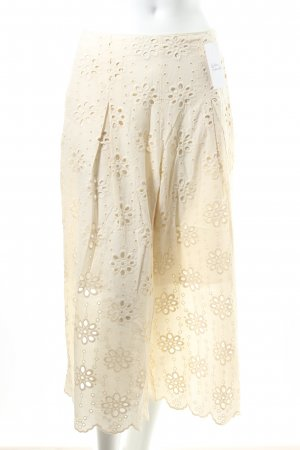 Mint&berry Pallazzohose hellbeige florales Muster Boho-Look