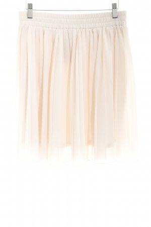 Mint&berry Pleated Skirt cream business style