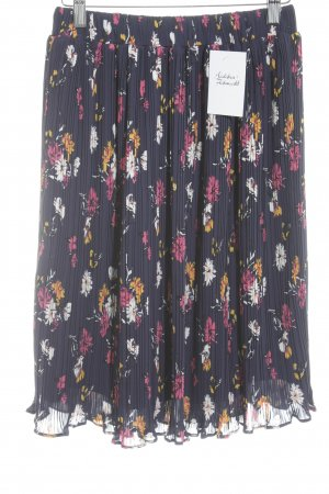 Mint&berry Pleated Skirt floral pattern casual look