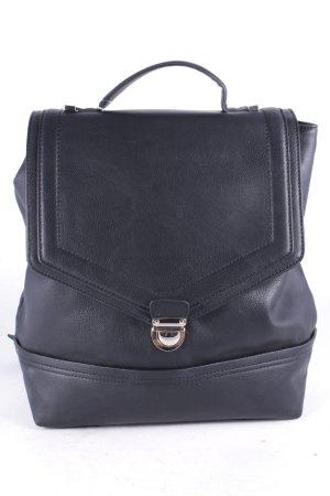 Mint&berry Rucksack schwarz-goldfarben schlichter Stil