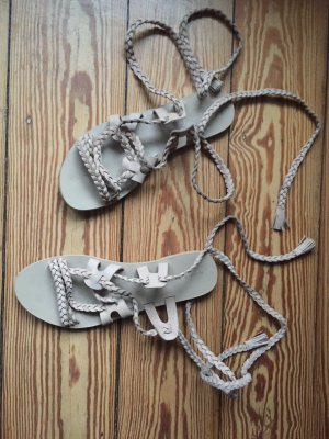 Mint&berry Roman Sandals cream leather