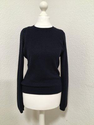mint•&•berry * schicker Pullover*klassisch*weich*dunkel blau