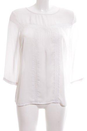 Mint&berry Schlupf-Bluse weiß Casual-Look